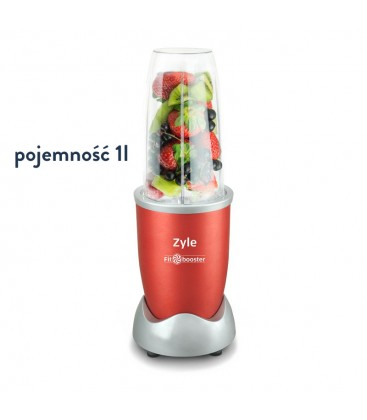 Mini-Blender Zyle Fit Booster 900W (czerwony)